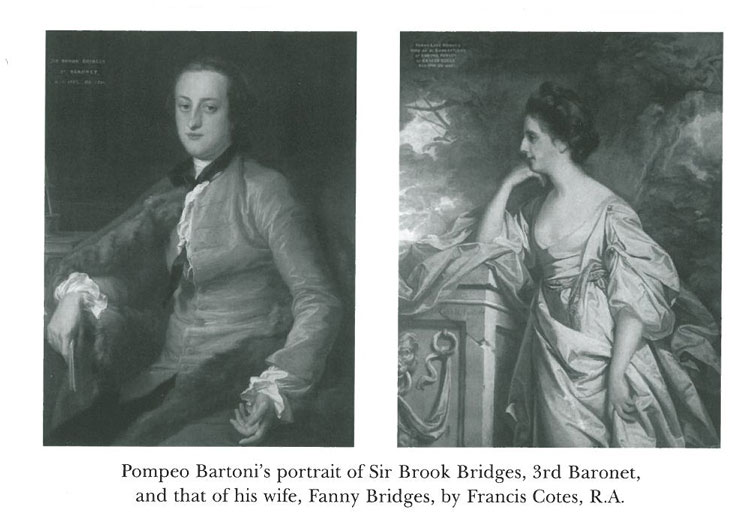 Edward Austen's in-laws. Image courtesy of Goodnestone Park.