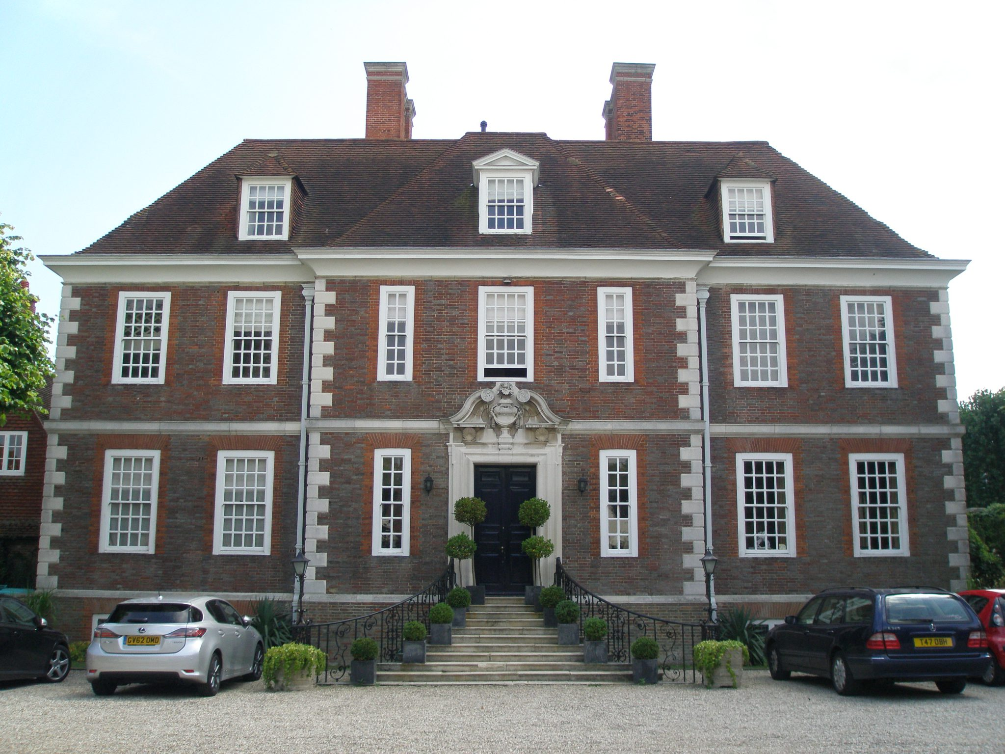 The Salutation, in Sandwich, Kent. House and Gardens designed in 1911 by architect Edwin Lutyens. Photo taken on August 8, 2013.