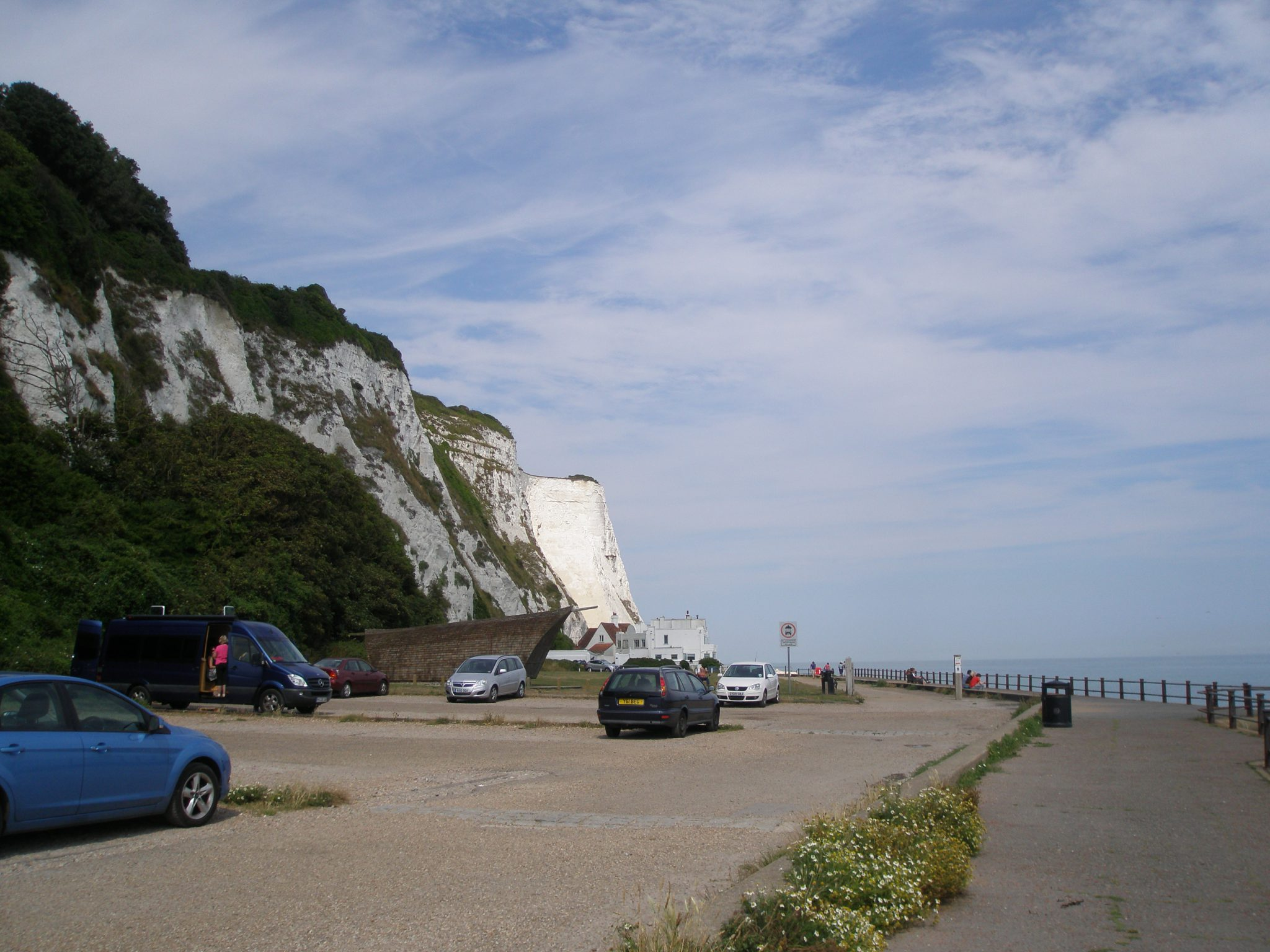 The Chalk Cliffs of St.Margaret's-at-Cliffe