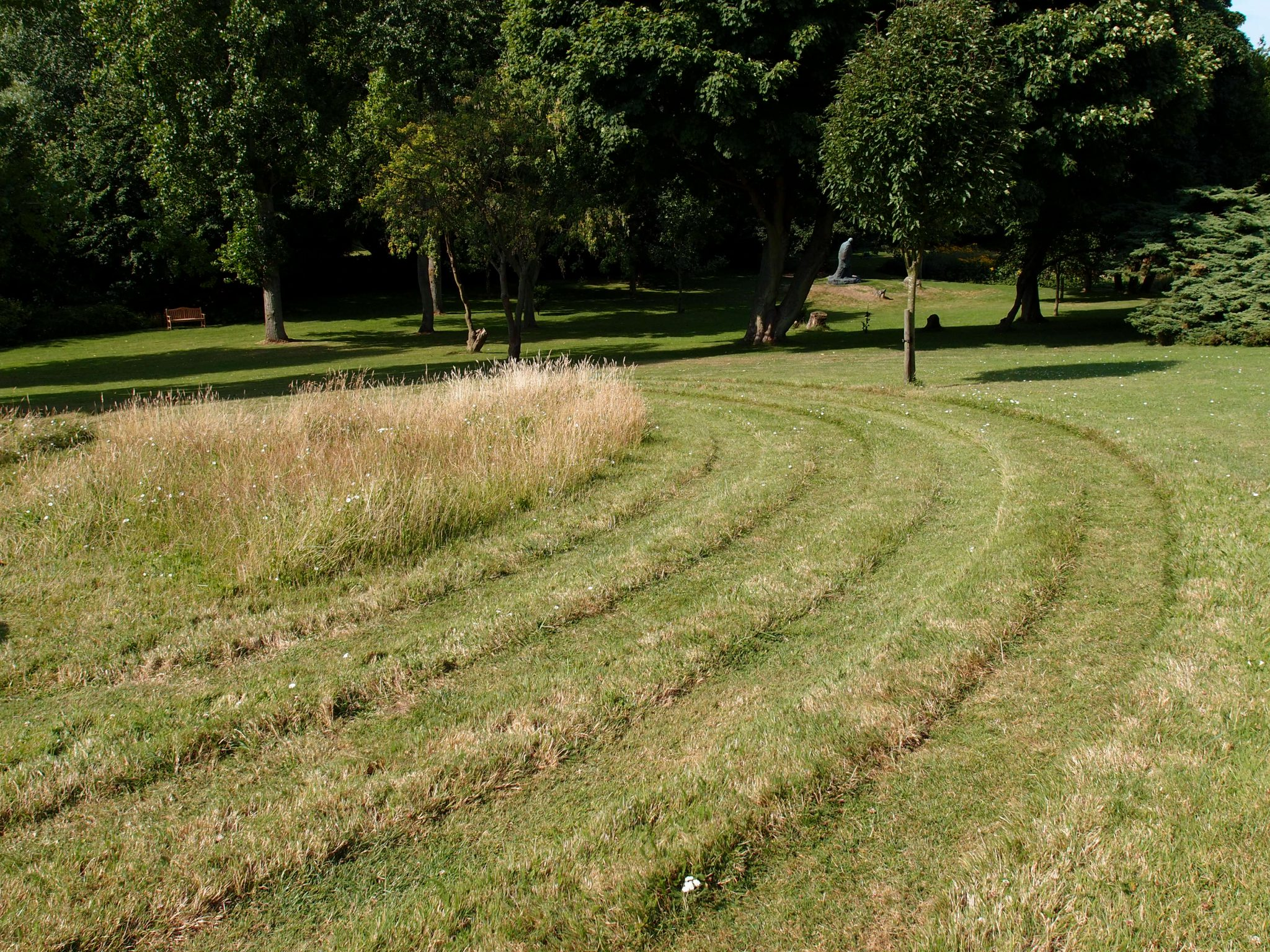 The Grass Labyrinth