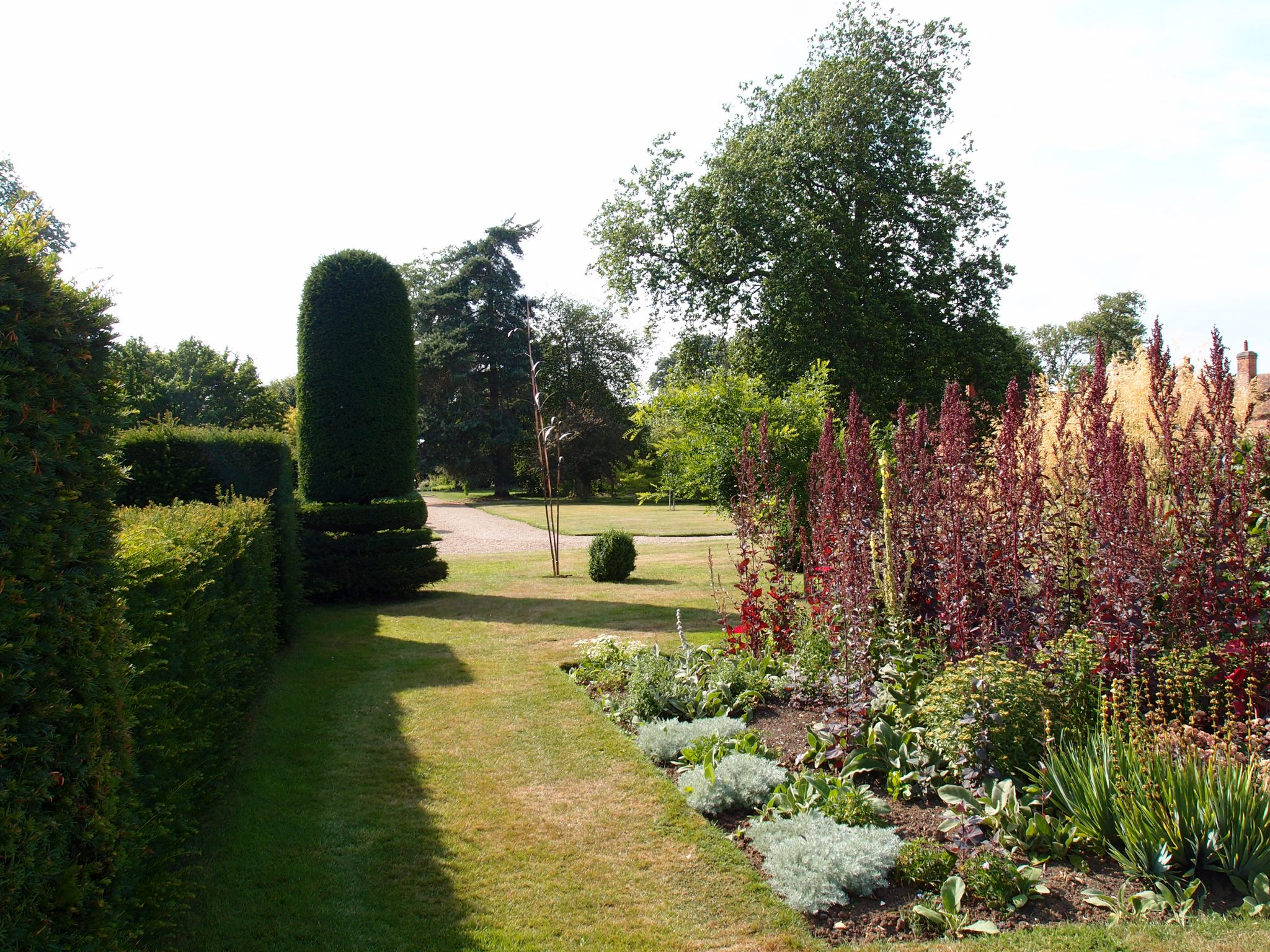 Topiary, near the Herbaceous Border
