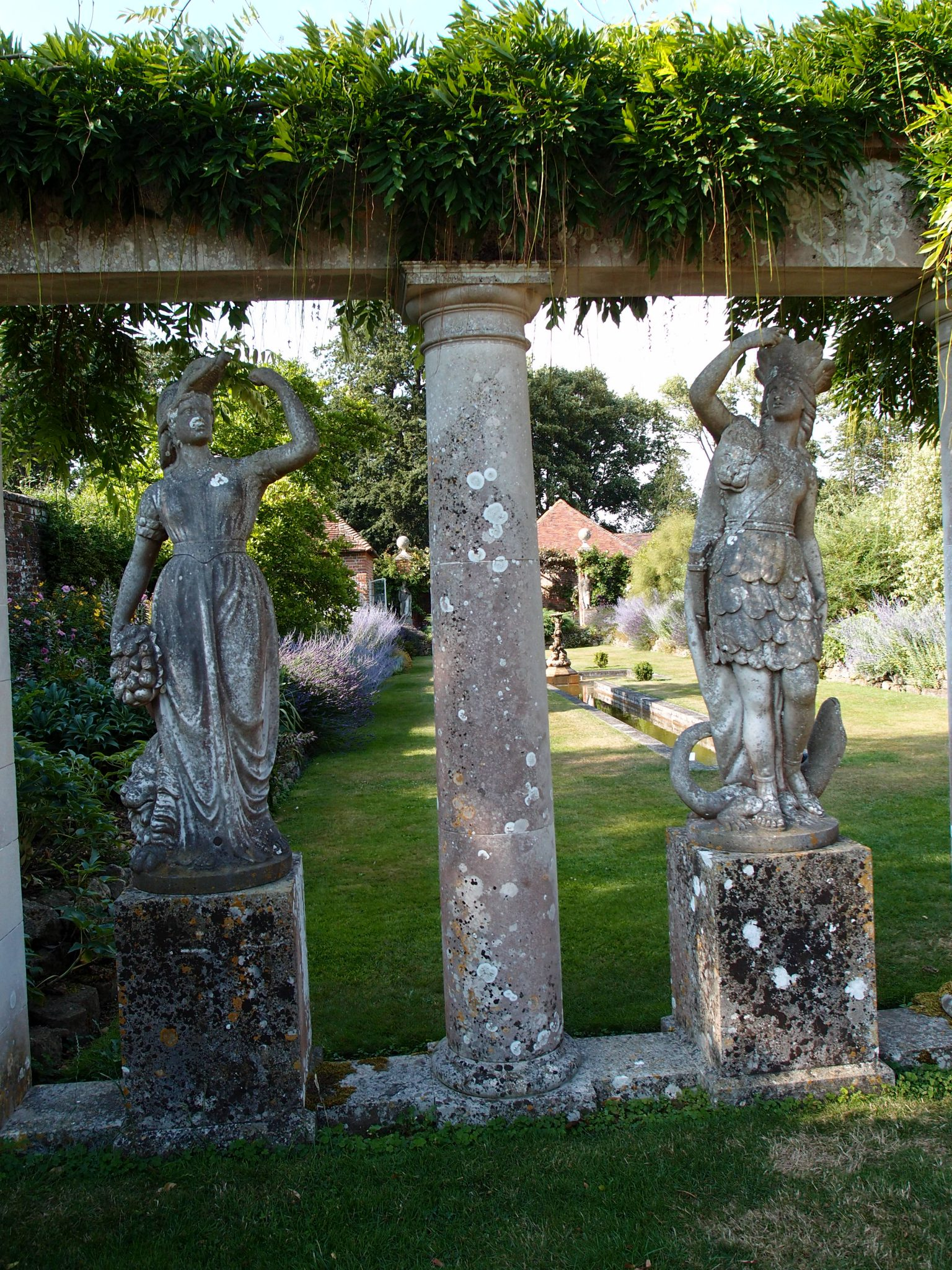 Detail of Italian Garden Colonnade