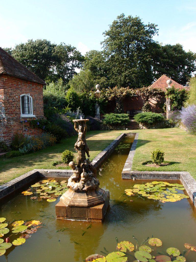 The Italian Garden's Fountain