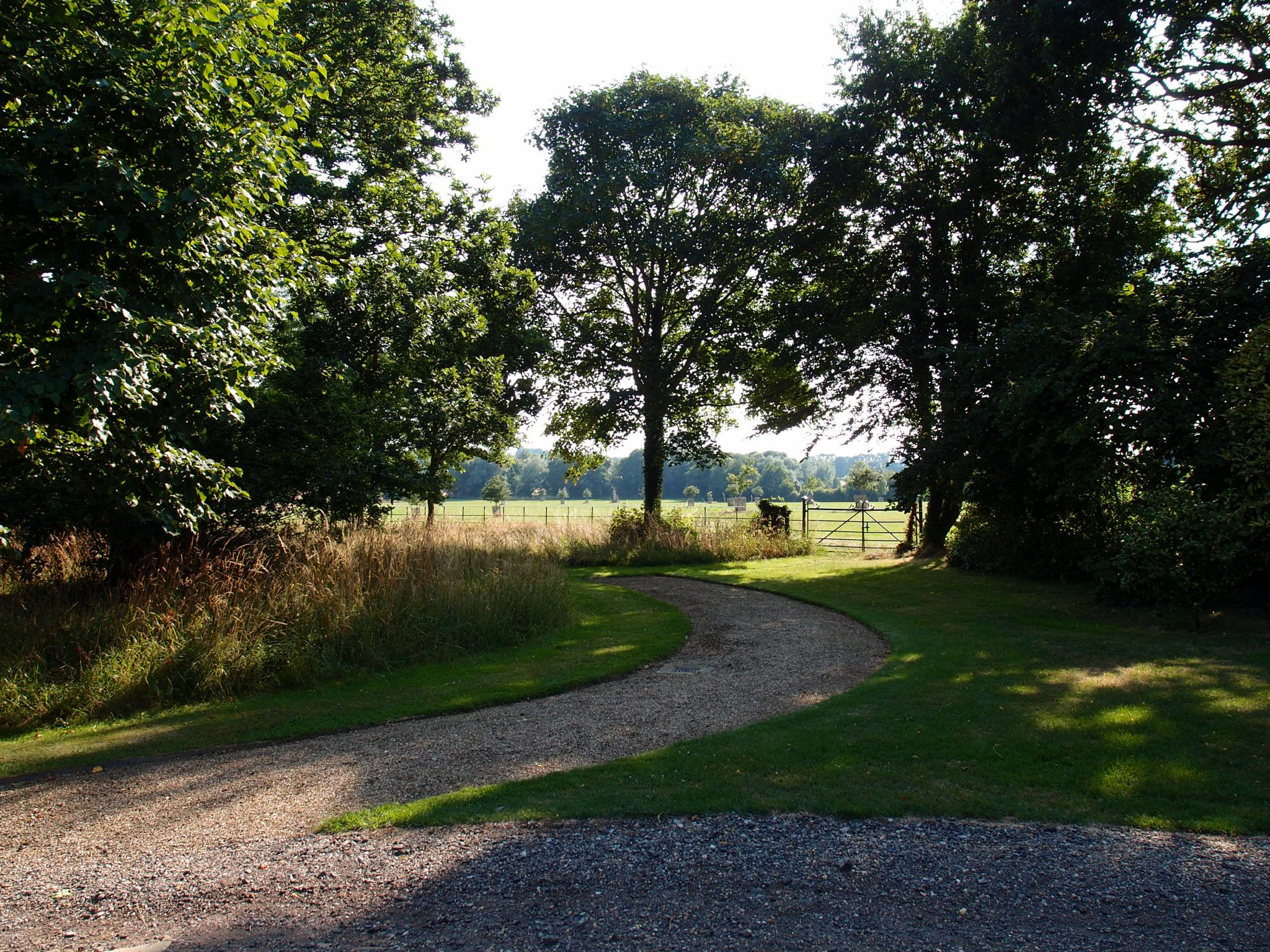...and found ourselves in the shady Wild Garden, which is surrounded by acres and acres of sunny pastureland.