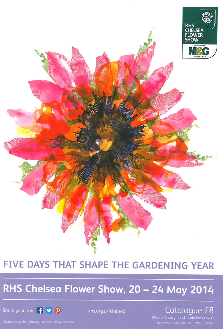 Five Days that Shape the Gardening Year? We shall see... Image courtesy of the RHS Chelsea Flower Show catalogue.
