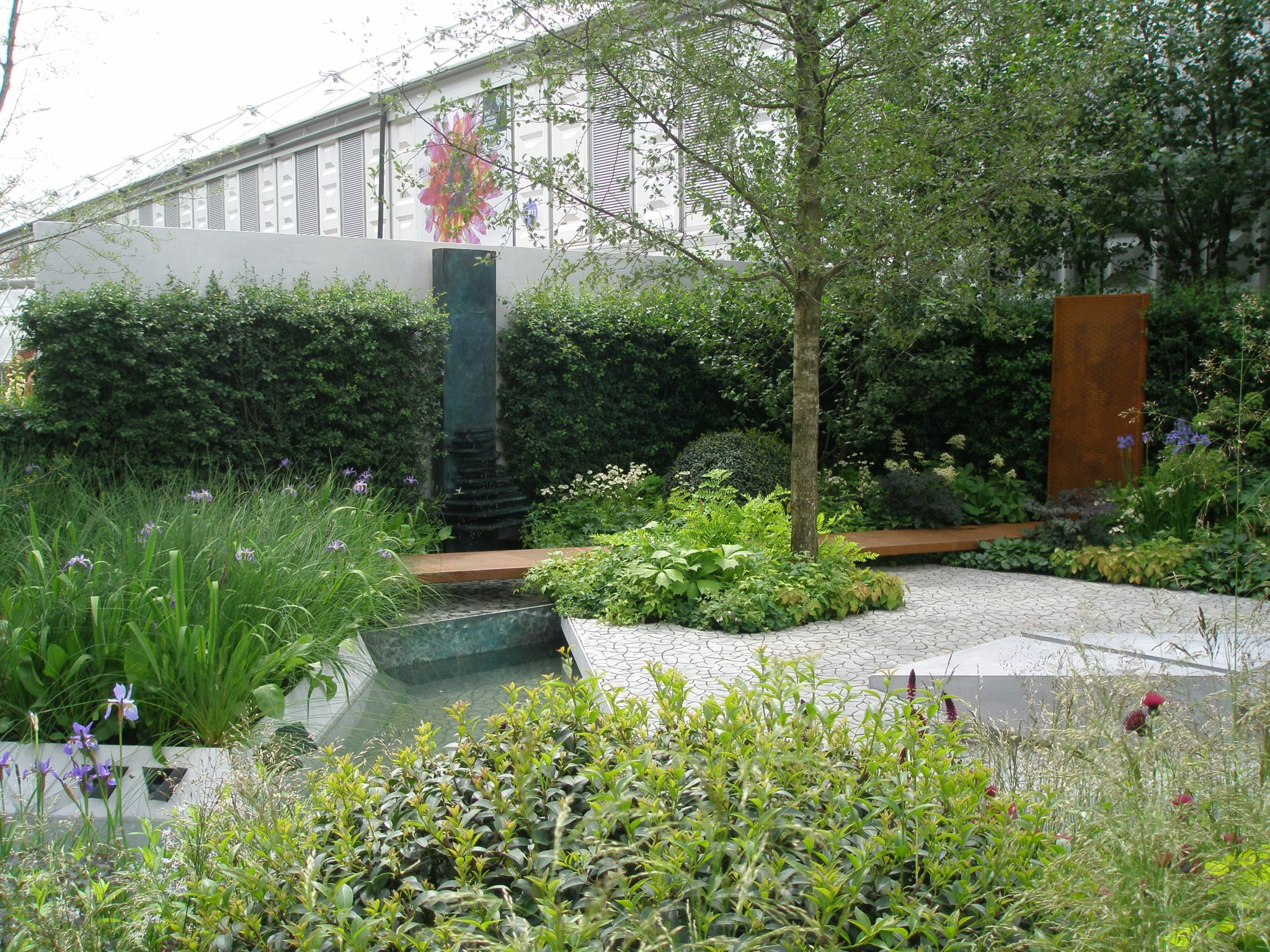 RBC Waterscape Garden. Awarded a Gold Medal, by the RHS.