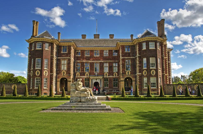 17th century Ham House, in Surrey, is one of the greatest Stuart houses in England.