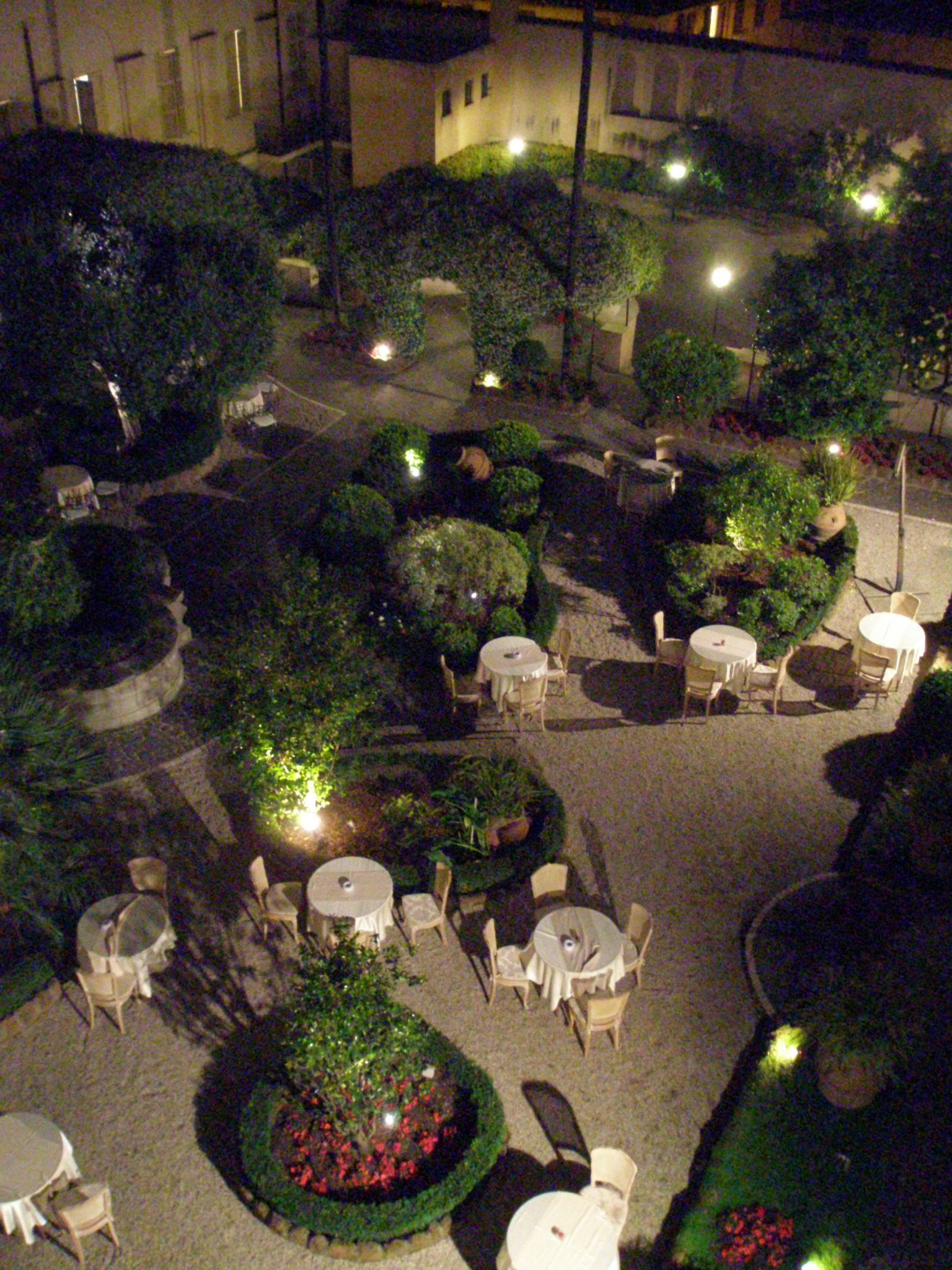 The Courtyard, on the night of Friday, May 9, 2014.