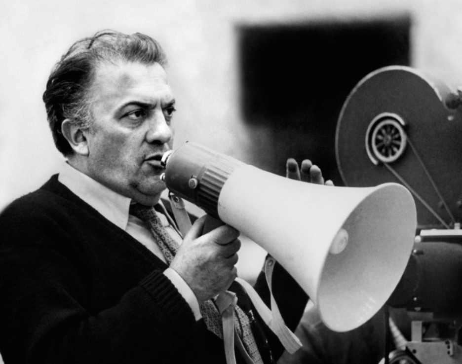 Federico Fellini. Born 20 January 1920. Died 31 October 1993. We'll take a peek at the street where he lived, in a little bit...