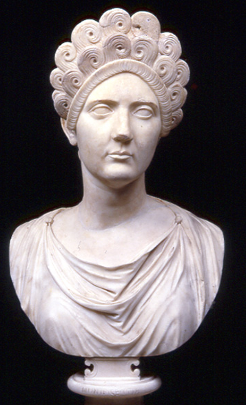 Matidia. Sculpted 147--148AD. Image courtesy of the Capitoline Museum.