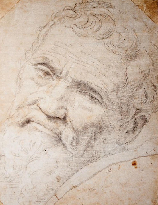 Michelangelo. Born 6 March 1475. Died 18 February 1564.