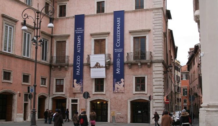 Museo Nazionale Romano. Palazzo Altemps. Piazza Sant'Apollinare #44. Rome. Open Tuesday through Saturday, 9AM to 7:45PM. Admission fee: 7 Euros.
