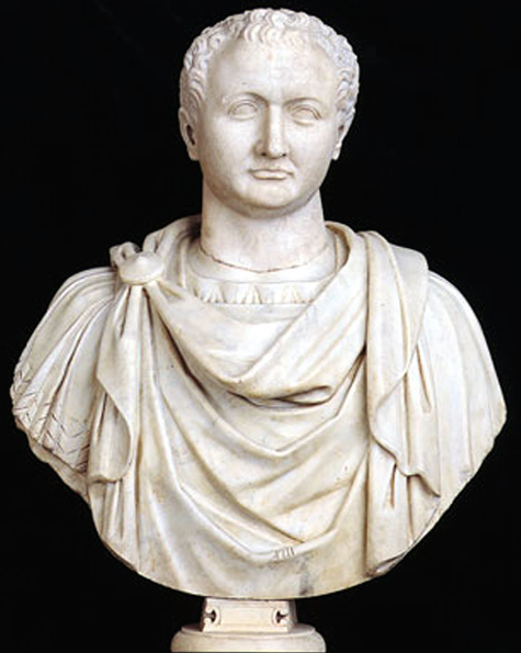 Titus. Sculpted 79--81AD. Image courtesy of the Capitoline Museum.