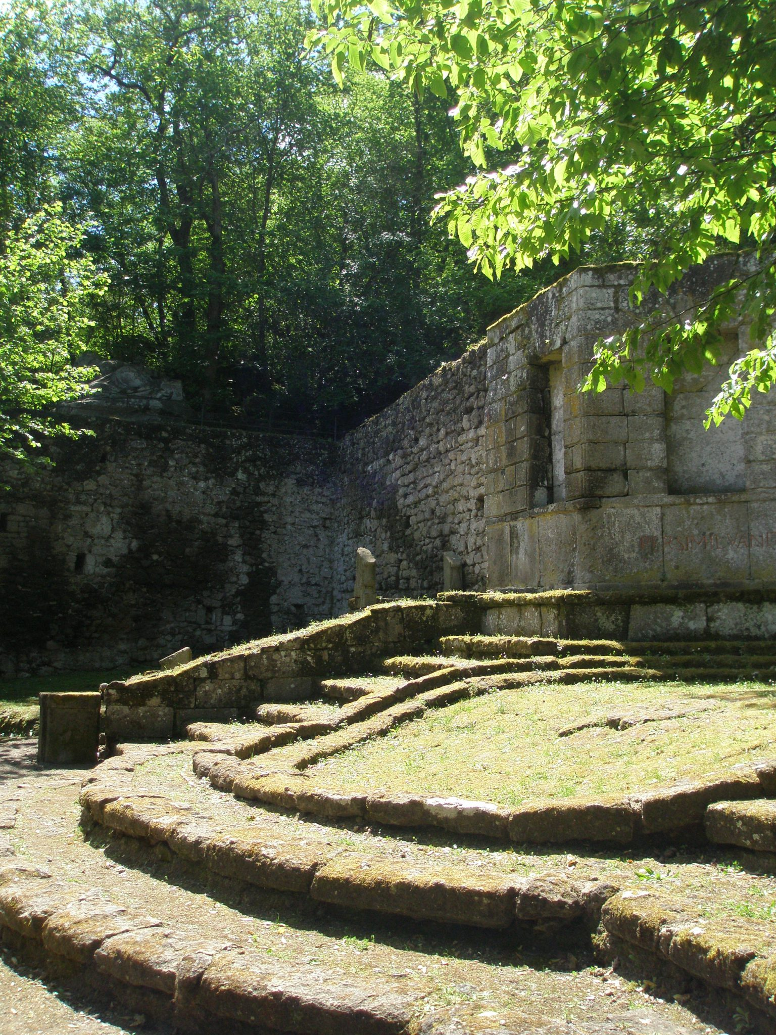 Another view of the Theatre