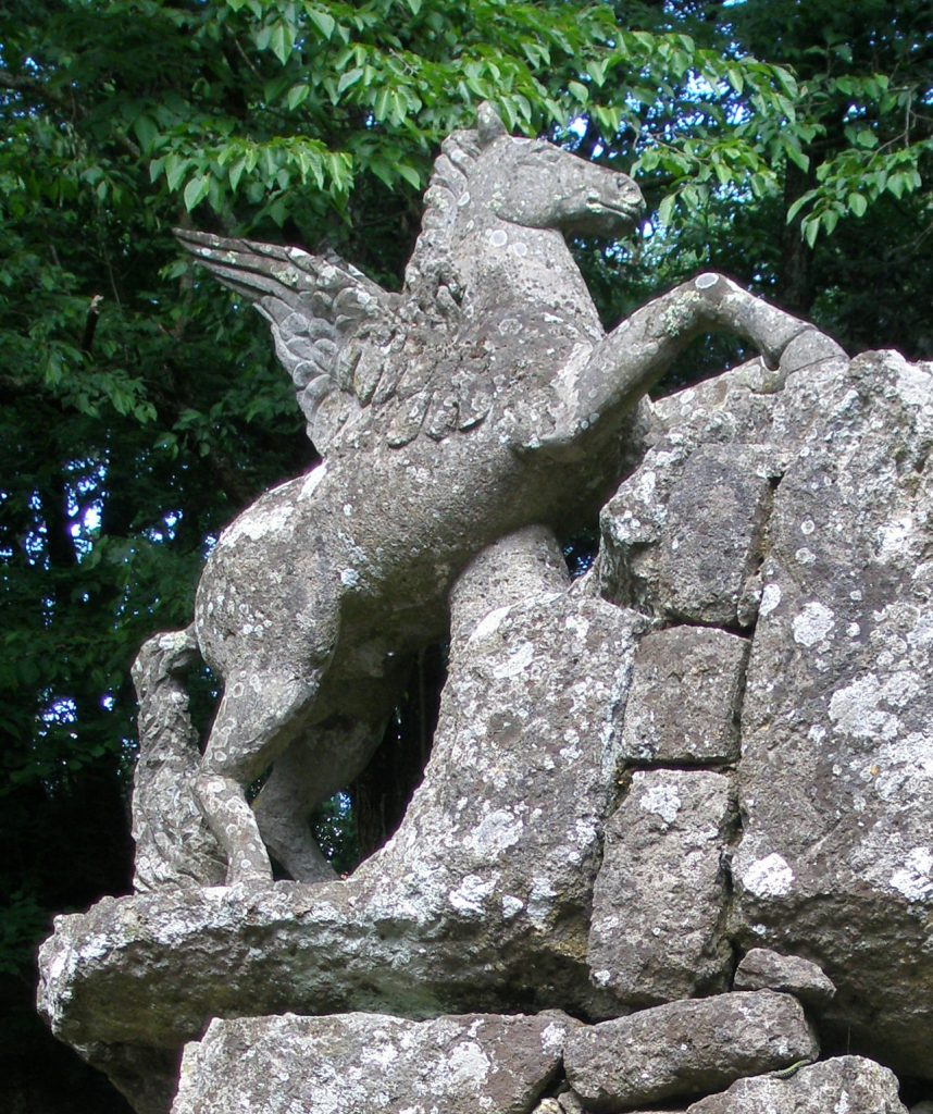 Detail of Pegasus