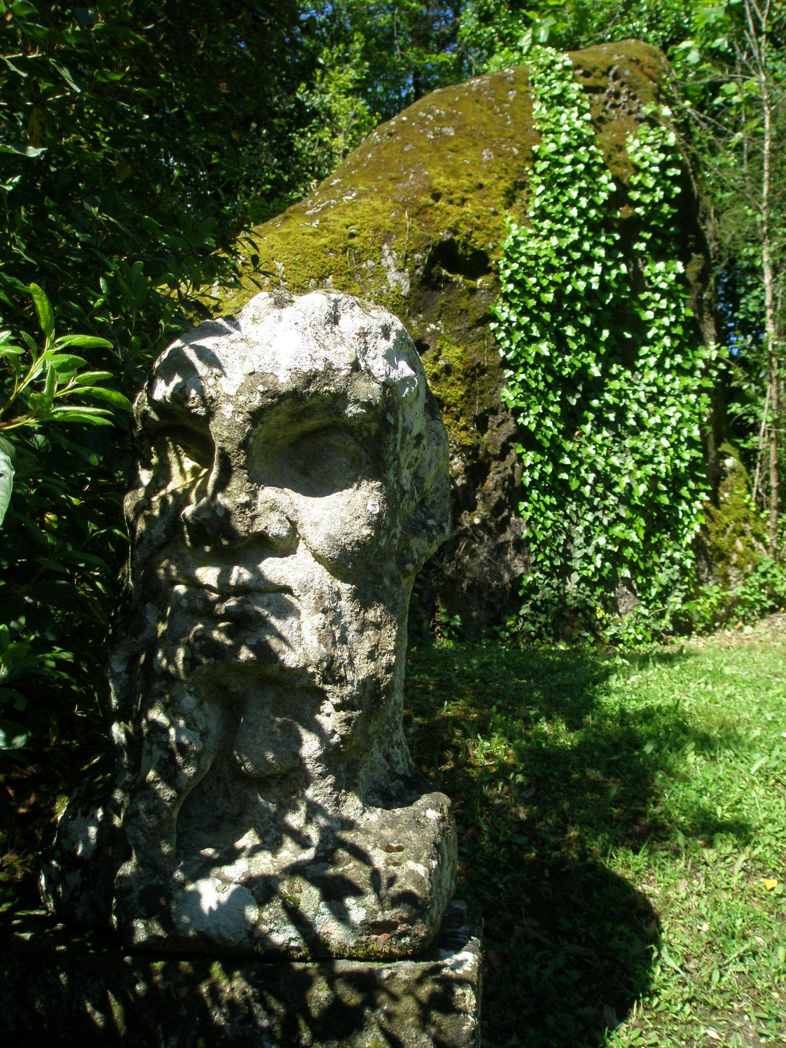 This Herm is one of the first Sights to greet the Sacro Bosco's visitors.