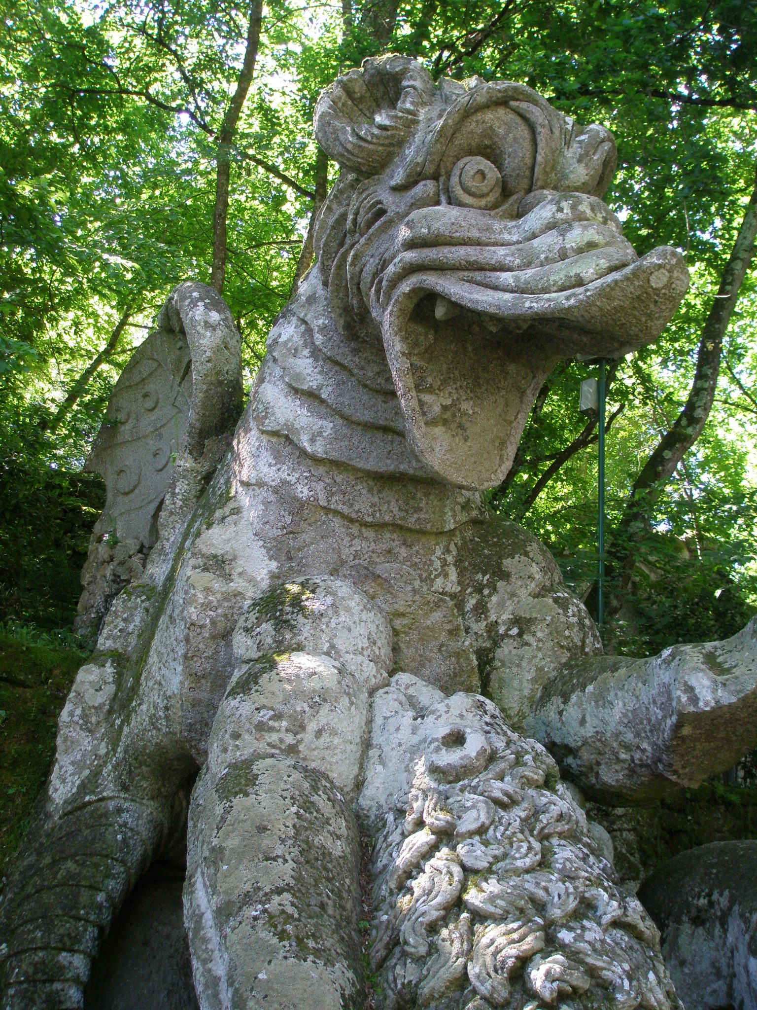 Detail of Dragon
