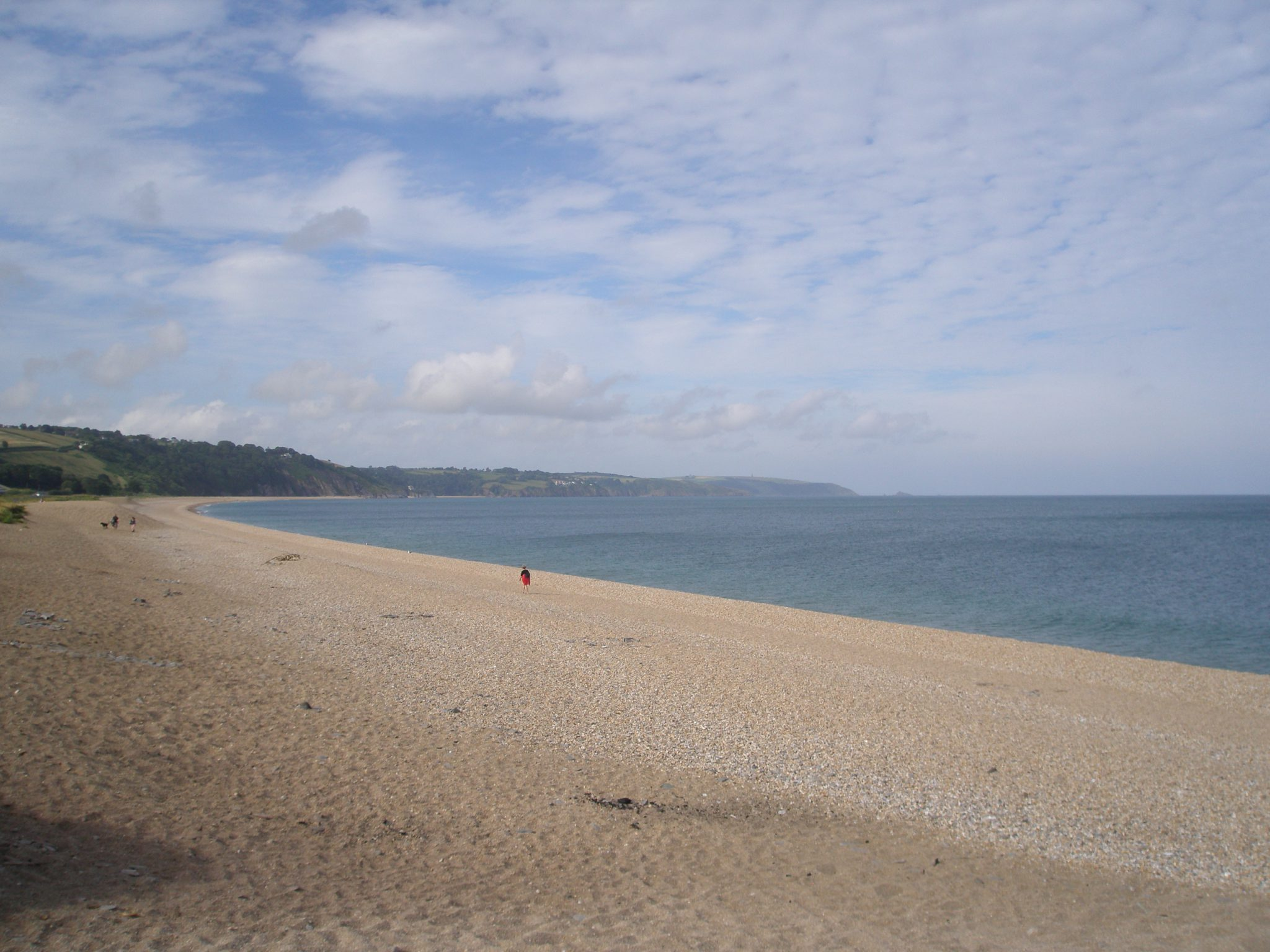 My view of Slapton Sands, on June 28, 2015.