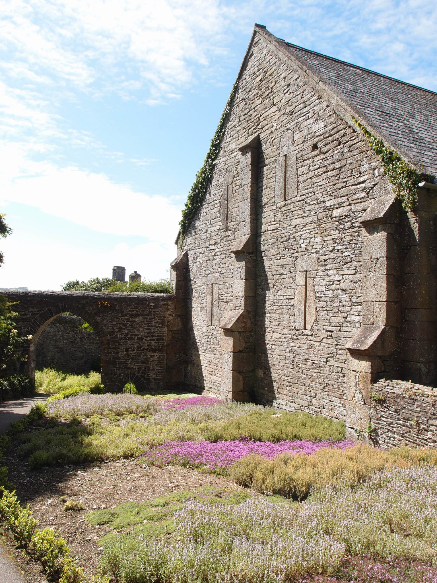 The Herb Garden, and the Great Barn