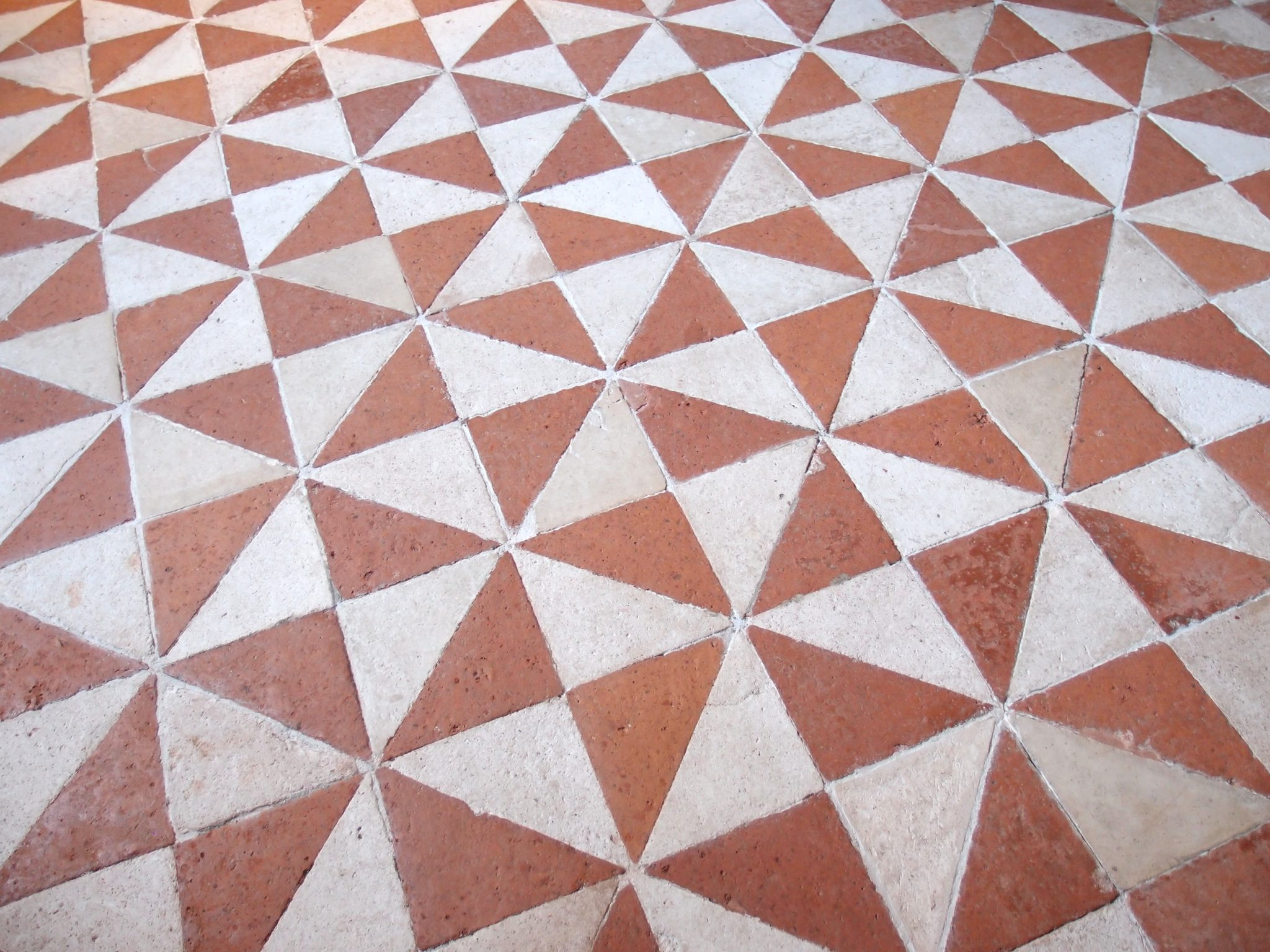 Detail of the amazing, dizzying floor, in the Great Hall