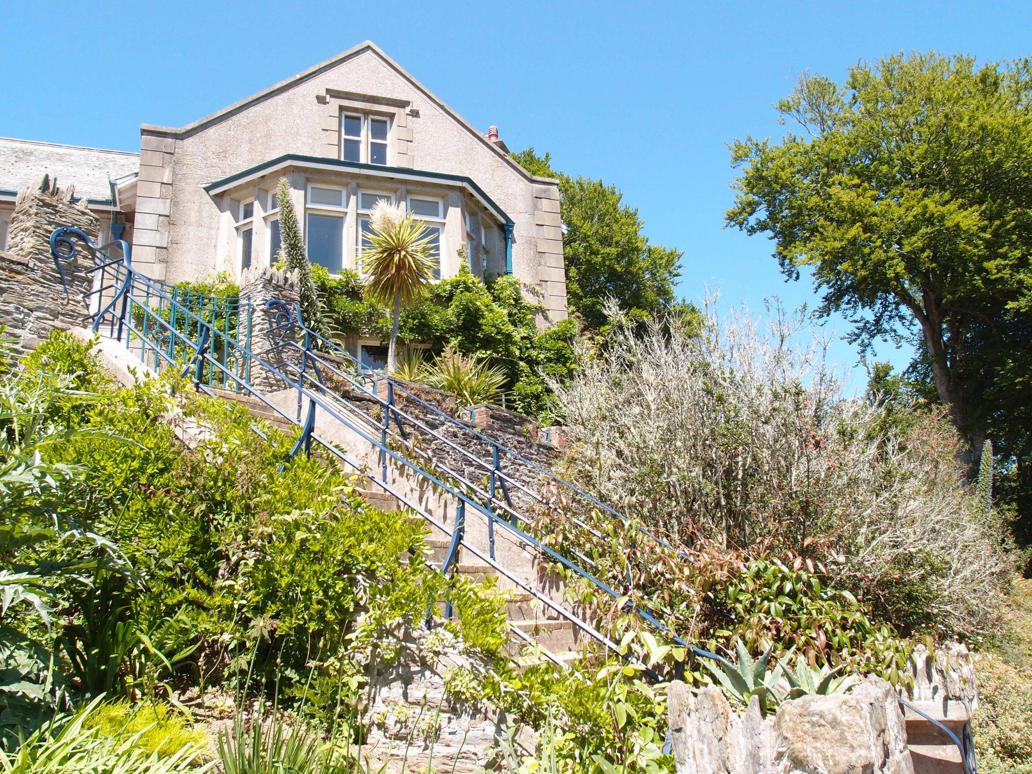Stairway in Palm Gardens.