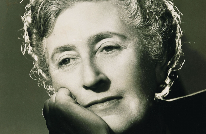 Agatha Christie. Born 1890, Died 1976.