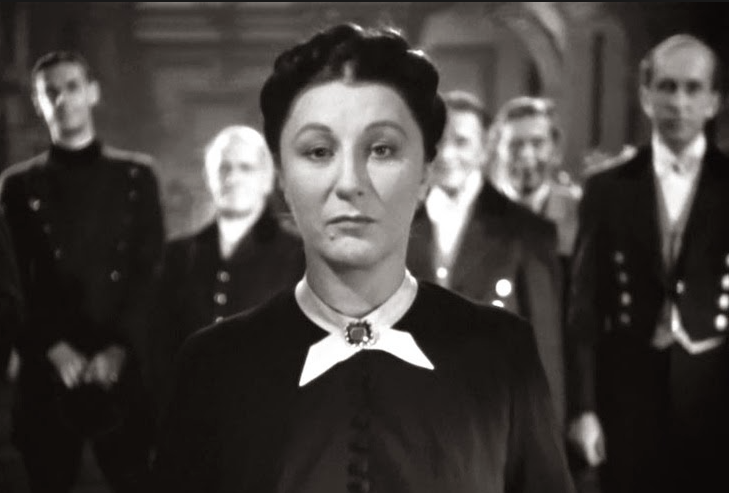 Judith Anderson played Mrs.Danvers in Alfred Hitchcock's 1940 version of REBECCA (which, though accurately depicting Menacing Atmospherics, fudged a major plot point, and in so doing robbed duMaurier's story of its complexity and ultimate impact).
