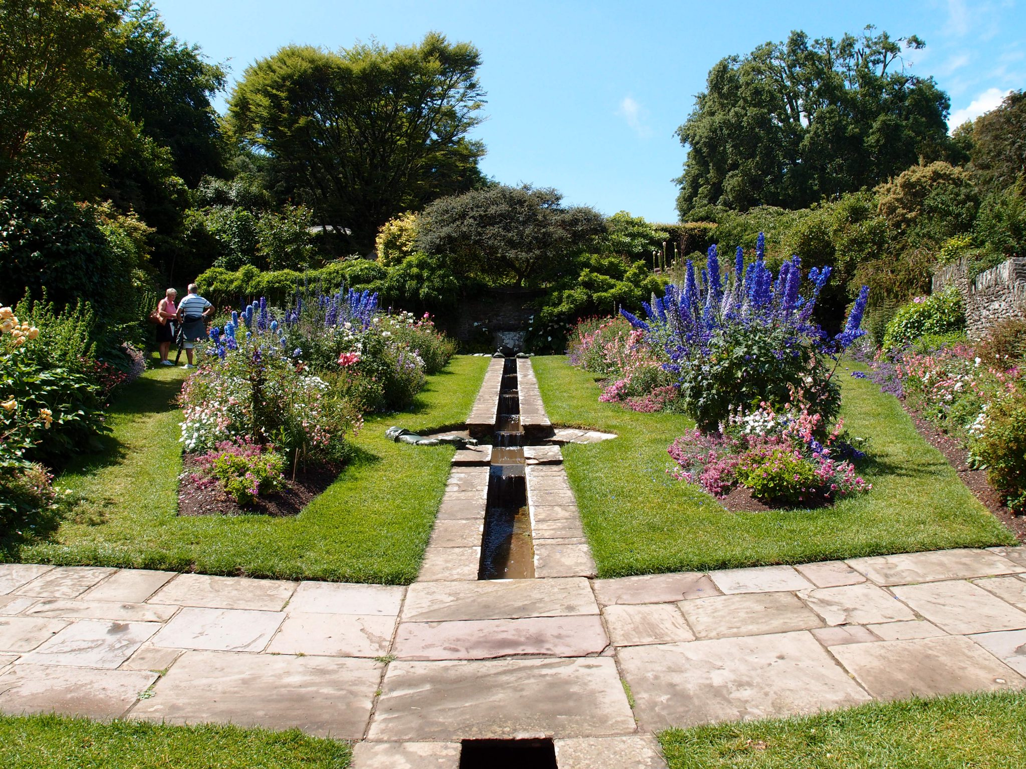 After the deluge: The Glorious Rill Garden