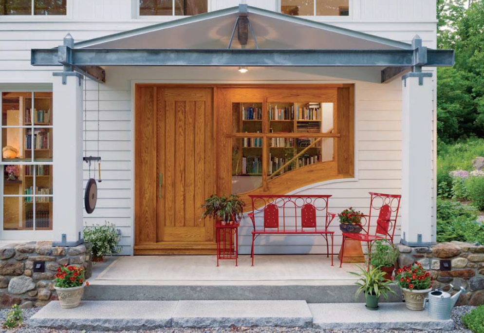 My front porch. Image courtesy of DESIGN NEW ENGLAND.