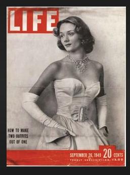 Niki on the cover of LIFE, September 1949