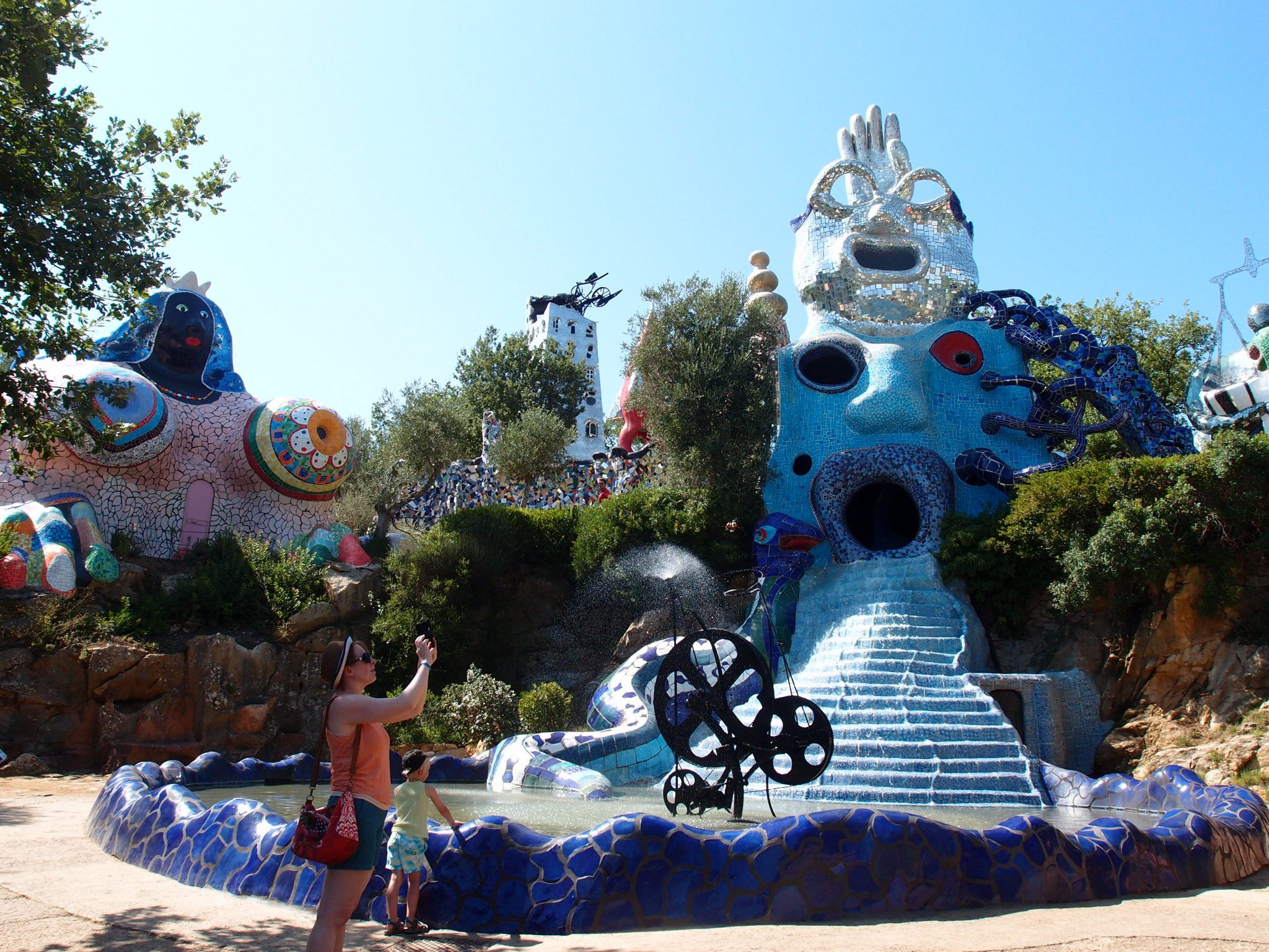 y final look at the Tarot Garden